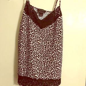 White House Black Market Lace Cami size XL